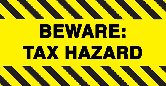 beware tax hazard