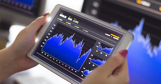 Analyzing stock market graph