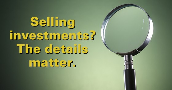 Selling Investments?