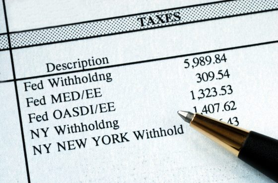 Payroll Taxes Deferred